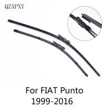 QZAPXY стеклоочистителей для FIAT Punto Evo/Punto 3 двери/Punto 5 двери/Grande Punto Модель Год от 1999- автомобильные аксессуары