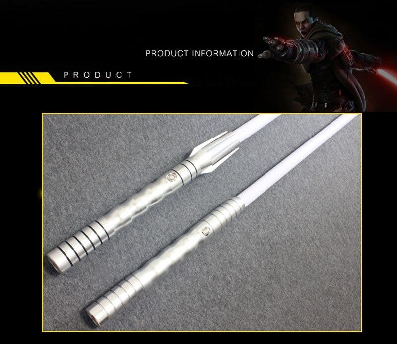 Больше звуков игрушки люк черная серия Скайуокер световой меч джедай синий Вейдер меч пять специальный подарок третий генерат Звезда игруш... - 2