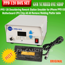 Free Shipp DHL EMS+ PPD 120 Desoldering Rework Station Unsolder for iPhone PPD120 Motherboard CPU Chip A8 A9 Remove Welding Plat цена 2017