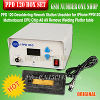 Free Shipp DHL EMS PPD 120 Desoldering Rework Station Unsolder For IPhone PPD120 Motherboard CPU Chip