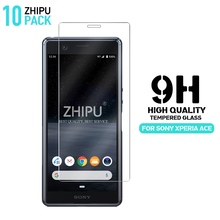10 Pcs Tempered Glass For Sony Xperia Ace SO-02L Screen Protector 2.5D 9H