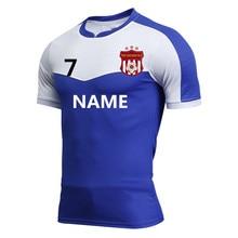 Hommes personnalisé maillots de football chemises de badminton tennis de  table T chemises de bowling de 6e87e6a6e8268