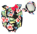 Wholesale Summer Newborn Baby Rompers Short Sleeve Cute Panda Design Infant  Cotton Clothes