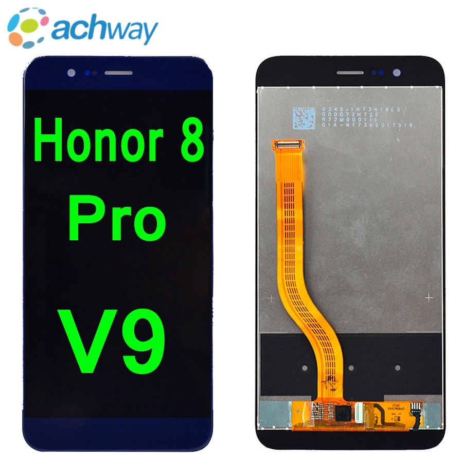 NEUE Für Huawei <font><b>honor</b></font> <font><b>8</b></font> Pro V9 <font><b>LCD</b></font> <font><b>Display</b></font> Touchscreen Digitizer Montage Ersatz 5,7