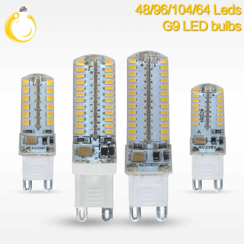 Best quality LED Bulb SMD 2835 3014 LED G4 G9 LED lamp 3W 7W 9W 10W 12W led Light DC12V AC220V 360 Degree Replace Halogen Lamp
