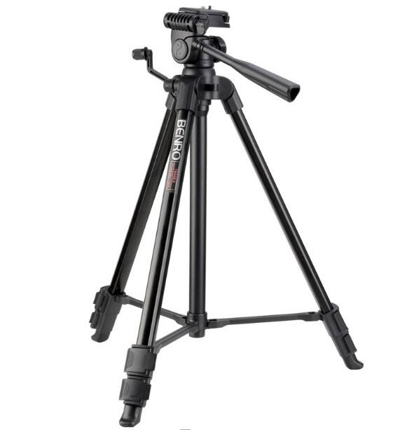 Benro T600EX T660EX T800EX T880EX Digital Aluminum Tripod With 3-Way Pan/Tilt Head