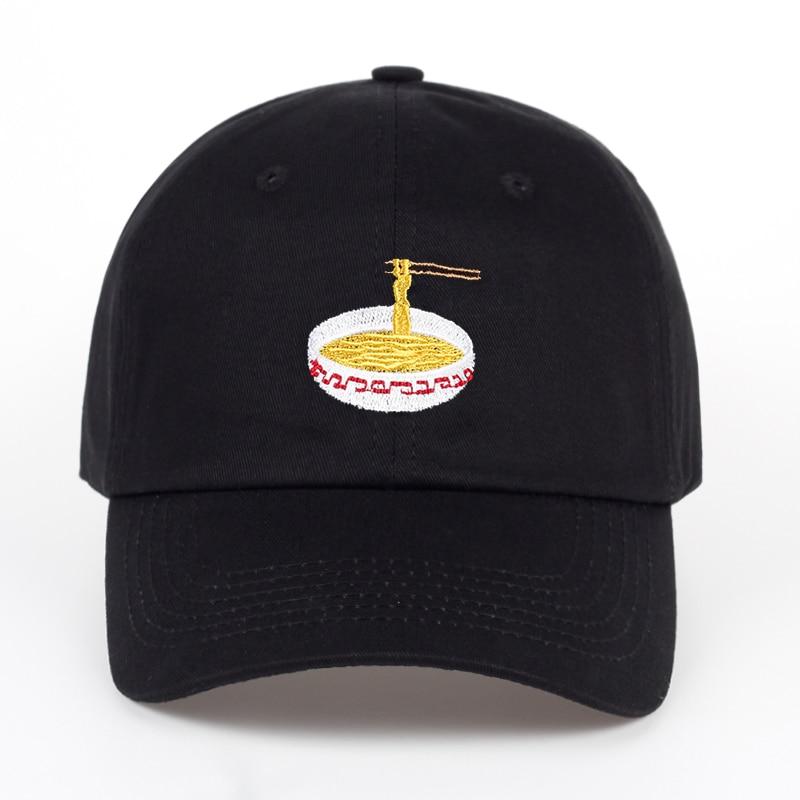 2017 New Style Adjustable Nuddles Embroidery Cotton   Baseball   Hat Fashion Unisex   Baseball     Cap   Cacaul Dad Hats Girl Snapback   Cap