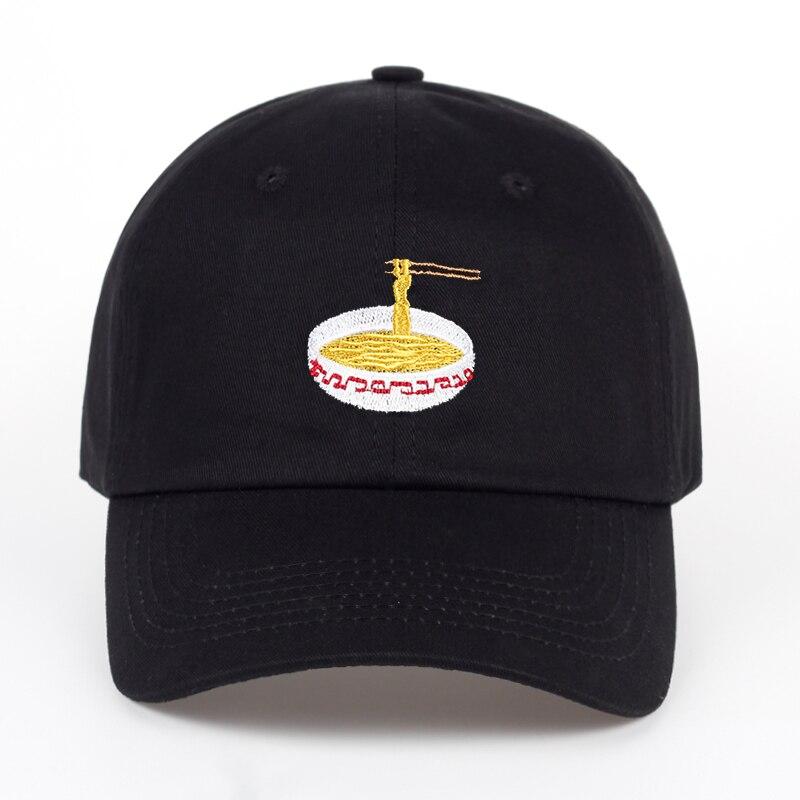 2017 Nuevo estilo ajustable Nuddles bordado algodón béisbol sombrero moda Unisex gorra de béisbol Cacaul papá sombreros chica Snapback gorra