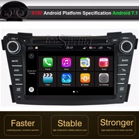 Android 7.1 Car DVD GPS Player for Hyundai I40