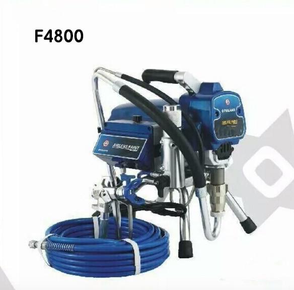 電気ピストンポンプエアレスペイントスプレーF4800ヘビーデューティ塗装機