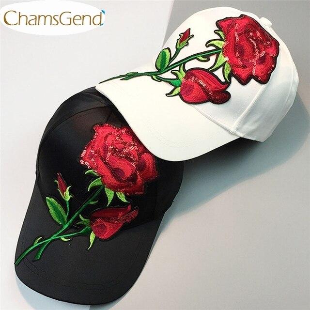 021dcdcf2b95 € 5.83 |Sombrero mujeres hombres grandes bordado Rosa Flores lentejuelas  béisbol gorras de moda 0512 en Gorras de béisbol de Deportes y ...