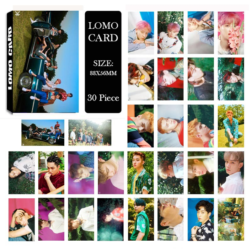 Youpop KPOP EXO 4th THE WAR KOKOBOP Album LOMO Cards K-POP New Fashion Self Made Paper Photo Card HD Photocard LK499 youpop kpop blackpink album laser pu bag jewelry admission package new fashion backpack bags sjb618