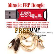 Gsmjustoncct wunder frp dongle/schlüssel + umf kabel (alle In Einem Boot Kabel)