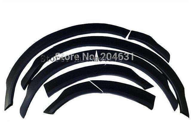 Calidad de la cena hecho de ABS material para Subaru Forester 2013, 2014, 2015, 2016, 2017 ribetes ceja ronda arco guardabarros bengalas