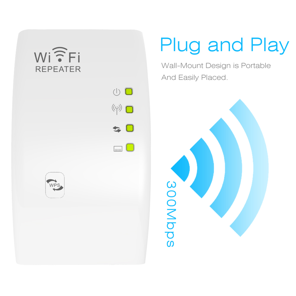 300Mbps Mini Wireless 2.4G Wi-Fi Router