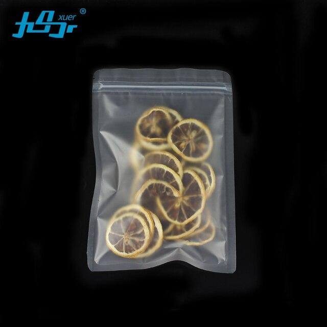 Оптовая продажа 50 шт. OEM Reclosable Пластиковые напиток хранения сумка на молнии Ziplock Прозрачные матовые плоские чай гайки сумка кофе сумки
