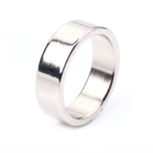 1 Pcs Hot Sale Magic Rings Silver Color PK Ring Strong Magnetic Rings Magic Tricks 18mm 19mm 20mm 21mm PK Rings black circle pk ring magic tricks strong magnetic magnet ring coin finger decoration 18 19 20 21mm size magic rings props tools