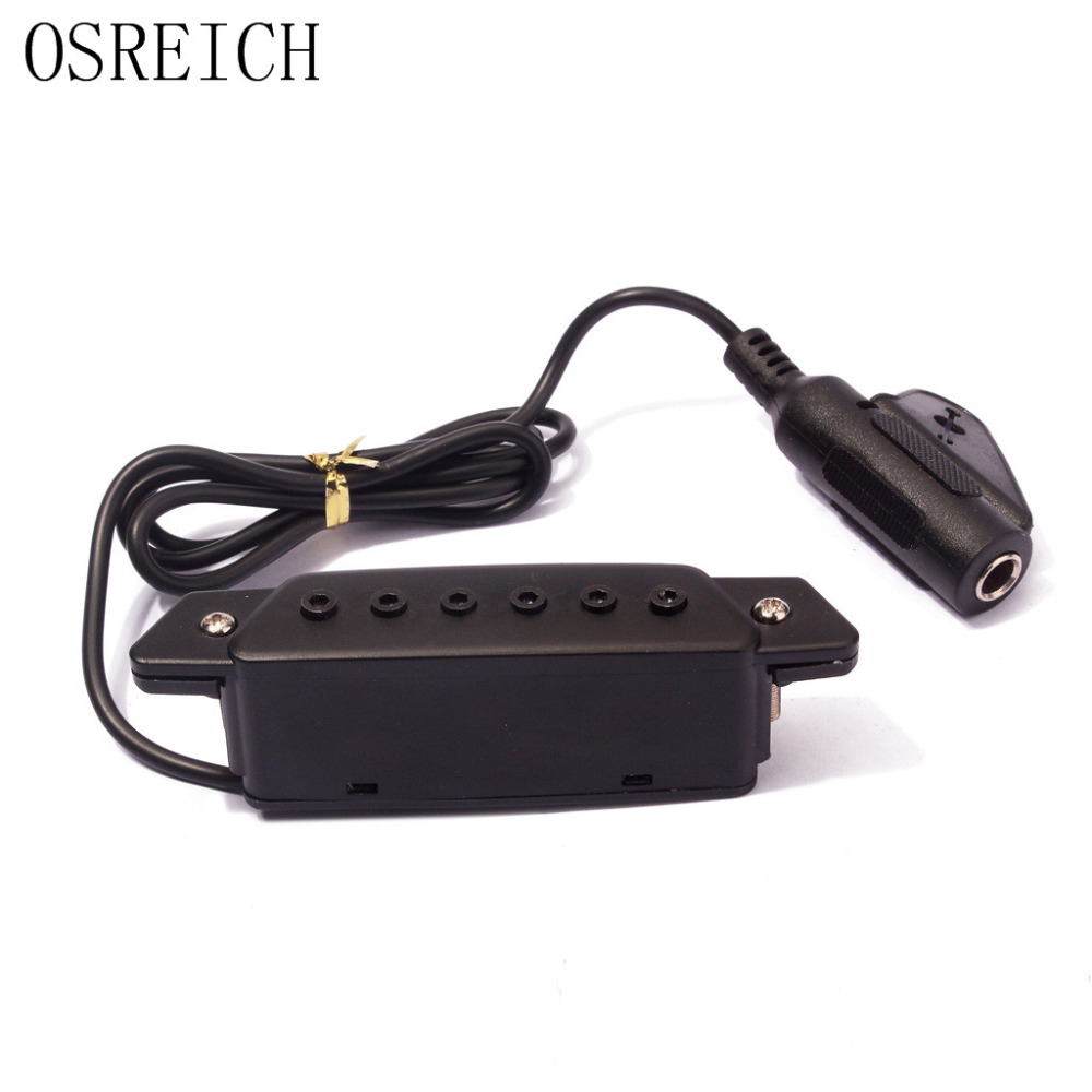 Pick up the guitar guitar pickup without opening the hole acoustic guitar pickup
