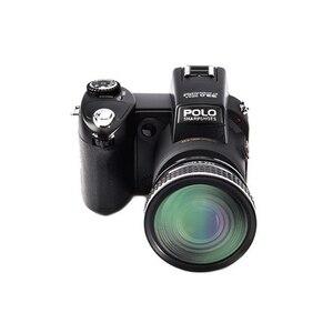 Image 2 - ELRVIKE 2021 Digital Kamera HD POLO D7200 33 Millionen Pixel Autofokus Professionelle SLR Video Kamera 24X Optische Zoom Drei objektiv