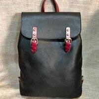 Модные женские туфли рюкзак высококачественный Молодежный пояса из натуральной кожи рюкзаки для подростков обувь девочек женская школьна