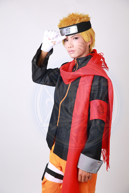 Naruto The Movie The Last-Uzumaki Red Scarf