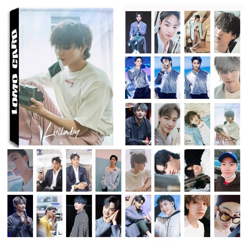 30Pcs/set KPOP GOT7 JB Single 05 Album Lullaby HD Photo Card PVC Self Made LOMO Photocard