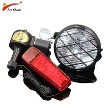 20e1341fd Conjunto de luces de dínamo para bicicleta accesorios de bicicleta sin  pilas luz delantera dínamo para bicicleta