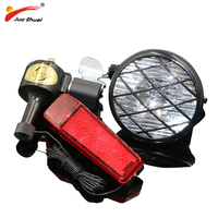 Bicycle Dynamo Light Set Cycling Bycicle Accessories No Batteries Needed Front Light Rear Lamp Dynamo for Bicycle