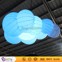 Christmas party decoration inflatable cloud with led lights Light-Up Toys