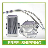 ybr125 motorcycle ybr 125cc oil cooler radiator accessories free shipping
