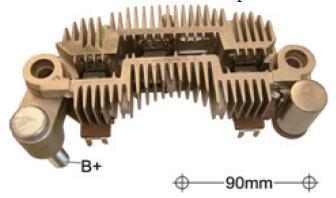 新しいhnrockオルタネータ整流1260E400/MIA9001