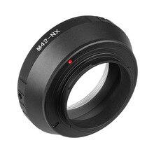 M42 NX M42 anillo adaptador de lente de cámara para Samsung NX300 NX500 NX1000 NX3000 NX1 NX10 NX30