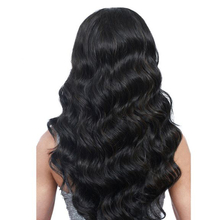 You May Hair 130% Density Pre Plucked Lace Front Human Hair Wigs With Baby Hair Brazilian Non-remy Body Wave Natural Black Color