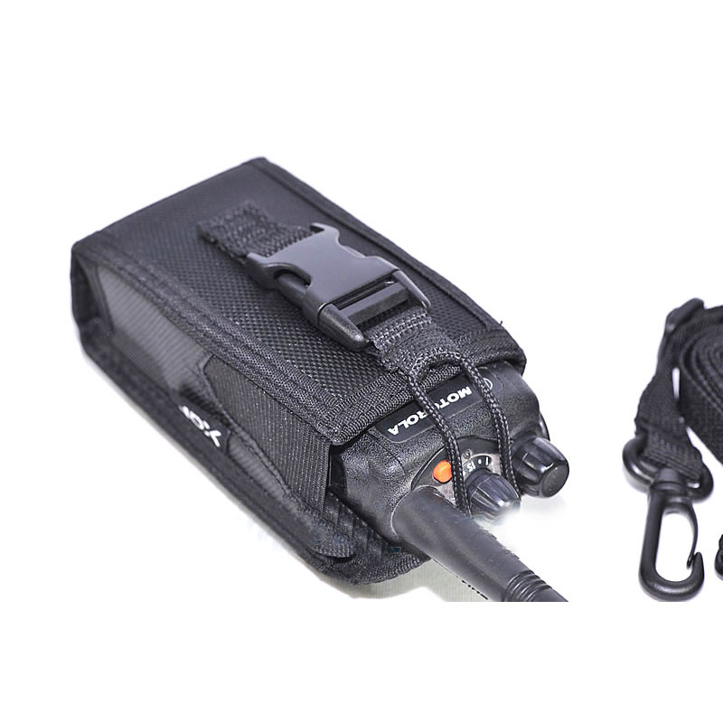 Big Size 3in1 Nylon Carry Case Holster Pouch Bag For Motorola GP328 GP338 GP88 GP340 GP368 P8220 Two Way Radio Walkie Talkie