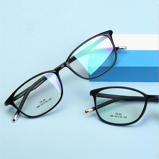 a89846aeade New Ultra Light TR90 Eyeglasses Frame For Women Retro Myopia Glasses Frame  Classic Men Women s Optical