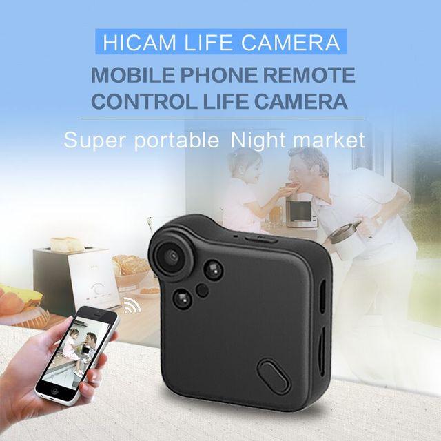 New Web IP Camera WIFI P2P Mini Camera DV Video Recorder Multi Portable Cam HD 720P H.264 Micro DVR Action Camcorder Wide Angle 5