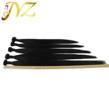 Длинные бразильские пучки прямых и волнистых волос естественного