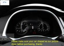 цена на For Hyundai Tucson 2016 ABS Tuning Special Instrument Panel Decorative Frame Cover Trim Molding Garnish