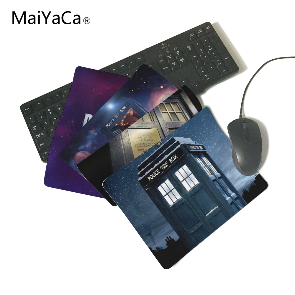 MaiYaCa Hot doctor who box Best Game Custom Mousepads Rubber Pad Custom speed mouse pad