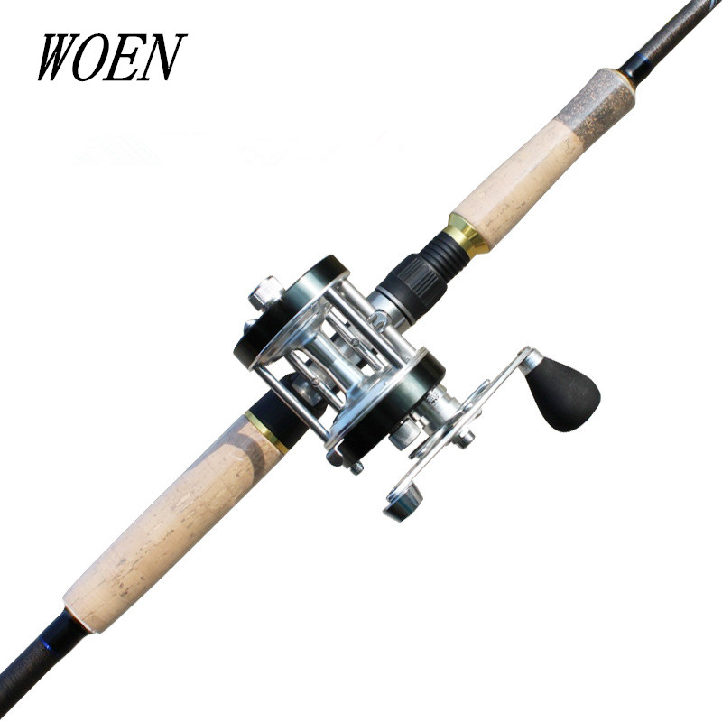 An upgraded version Hunting black 2.4 m Fishing rod Pure carbon Superhard + Full metal drum fishing vessel Fishing rod suit--d2 m style кресло d2