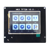 Support TMC2208 Board Mini Touch Screen Durable With Drivers Pannel Spare Parts 3D Printer Kits MKS GEN L+TFT28 LCD Display