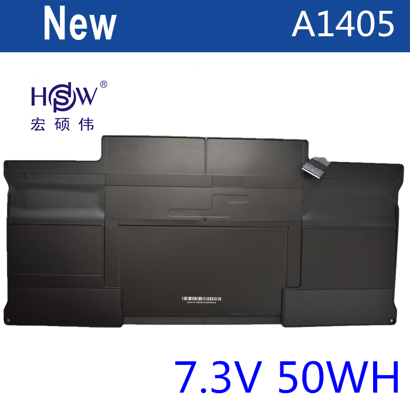 HSW laptop battery for APPLE MacBook Air quot Core i5 quot 1 6 13 quot A1369 Mid 2011 A1405 A1466 battery for laptop 2012 battery in Laptop Batteries from Computer amp Office
