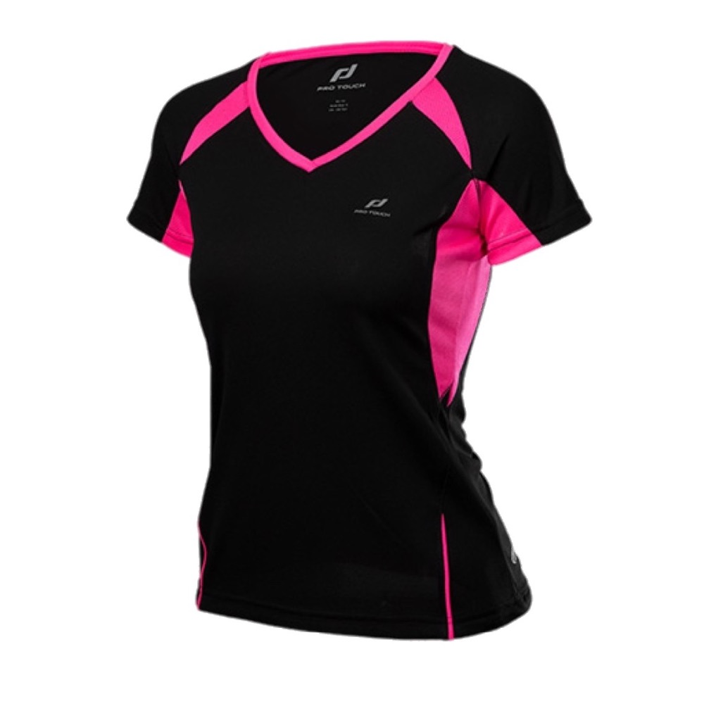Y women 39 s running shirt short sleeve v collar breathable for Women s running shirts