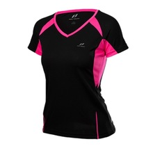 Y Women s Running Shirt Short Sleeve V Collar Breathable Mesh Quick drying Fitness Training Sportswear