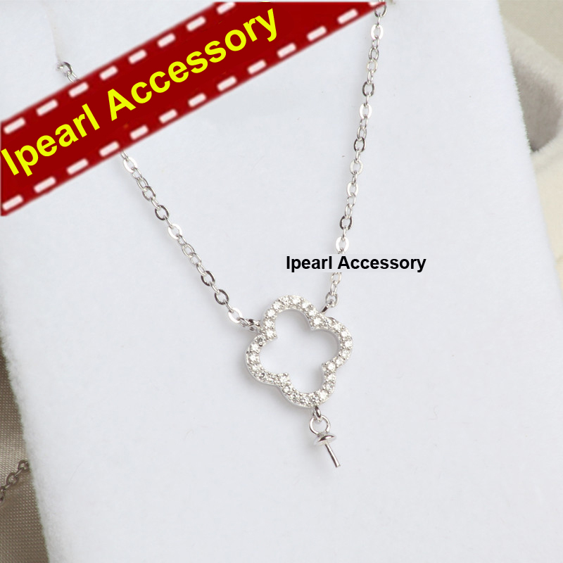 DIY Pearl Pendant Necklace Accessory Women DIY Natural ...