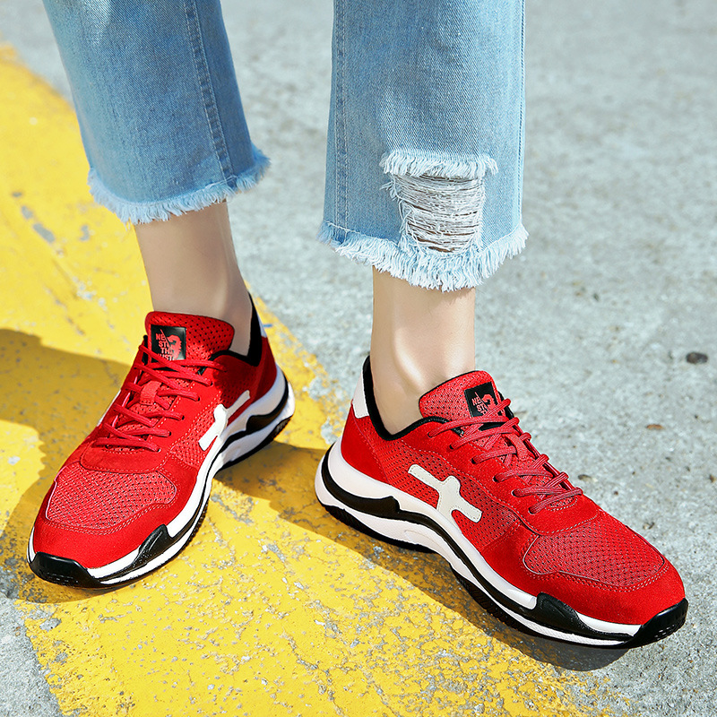 Summer trend British wild breathable flying wild street features outdoor sports running shoes