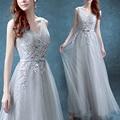 Robe de soiree 2017 elegant Prom Dress evening dress sisters dress long design slim plus size custom dress Vestidos de fiesta