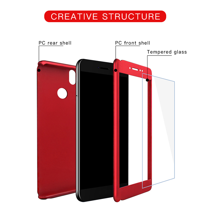 360 Full Cover Phone Case For Xiaomi Redmi 3