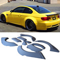 Z-ART 2008-2012 E92 M3 PU Unpainted Grey Primer Auto Car Wheel Arch Side Fender Flare For BMW E92 M3 Only 08-12 High quality