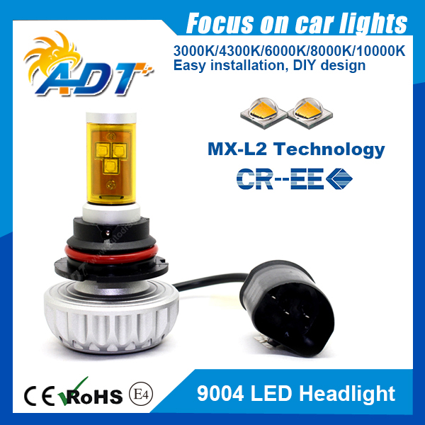 COLIGHT LED Headlight Bulbs H7 Conversion Replacements Yellow Amber 3000K White 6000K Dual Color Temperature 72W 12000lumens Hi//Lo Beam DRL Waterproof ZES Chips Fog Lights